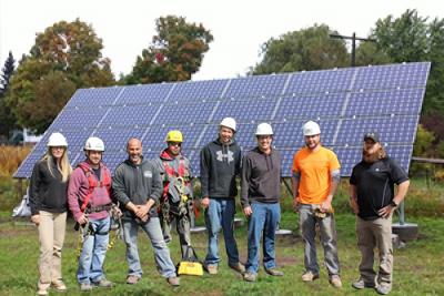 solar power team